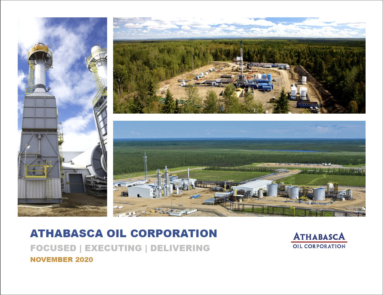 Athabasca Oil Corporation - Corporate Update